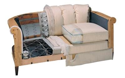 Замена наполнителя мягкой мебели